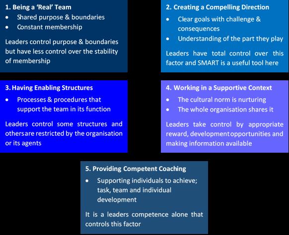 hackmans-5-factors